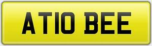 A-TO-B-PRIVATE-HIRE-VIP-CAR-REG-NUMBER-PLATE-AT10-BEE-A2B-ATOB-TAXI-COACH-FIRM