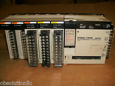 Omron SYSMAC C200H CPU01 MR341 OC222 IA122 ID211 PROGRAMMABLE CONTROLLER