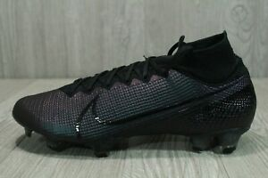 63 New nike mercurial superfly 7 Elite FG football crampons AQ4174-010 Homme Taille 10