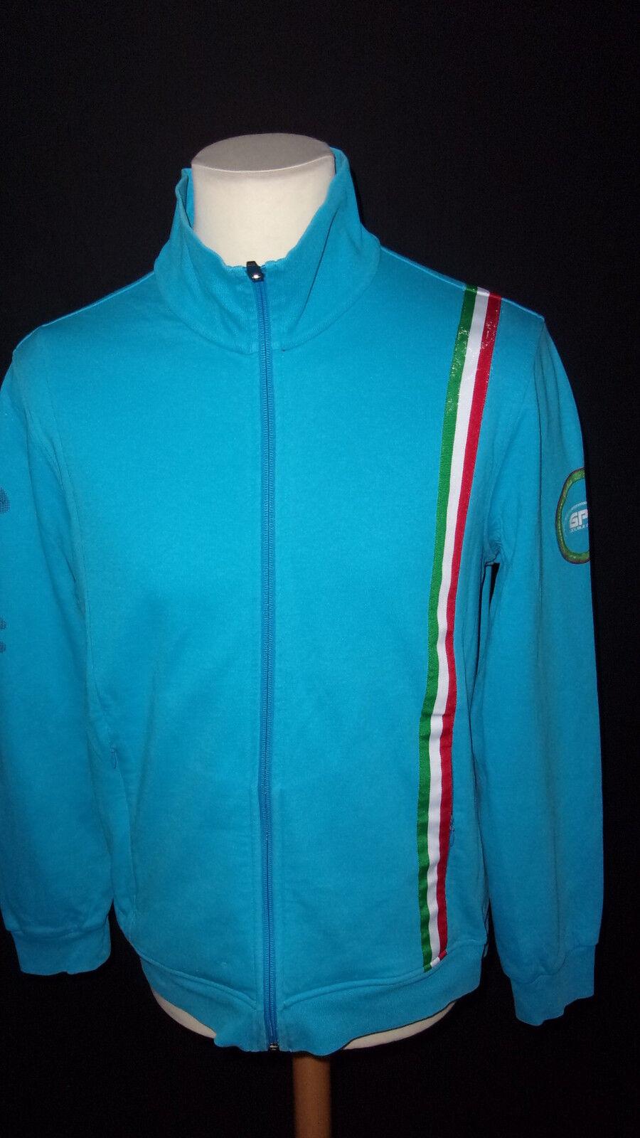 Veste d'équitation GPA édition limitée blue size L