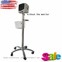 Us Sale Mobile Cart,stand On Wheel For Icu Contec Patient Monitor,rolling Stand