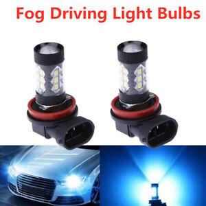 New-Super-Bright-H11-H8-H9-LED-Headlight-Bulb-Kit-Performance-80W-8000K-Ice-Blue