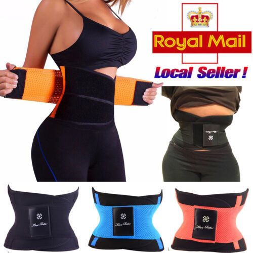Women Yoga Waist Cincher Girdle Belt Body Shaper Tummy Trainer Weight Lose Wrap