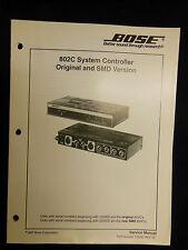 bose 802 c system controller 802c shape 802 302 ebay rh ebay com bose 802 series ii controller manual bose 502c controller manual