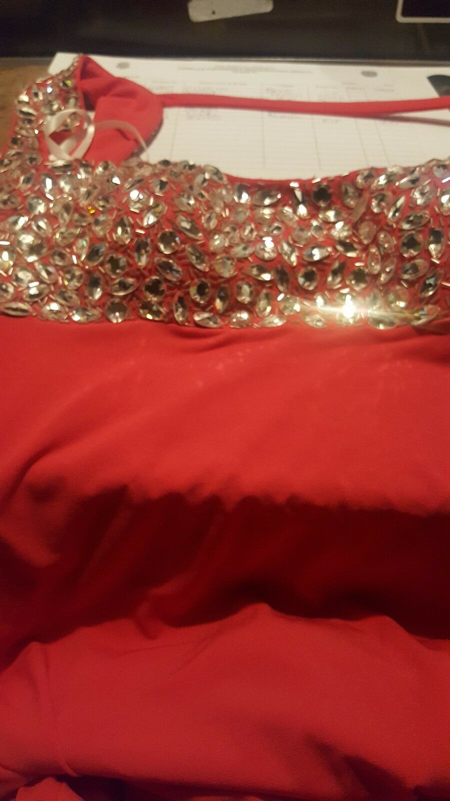 New New New Jovani 1581 coral  Beaded Sleeveless Formal Wedding Women Gown 10 2c364c