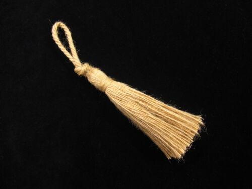 Petite clé jute Tassel-dur à porter corde string tasselled trim pour les éléments de maison