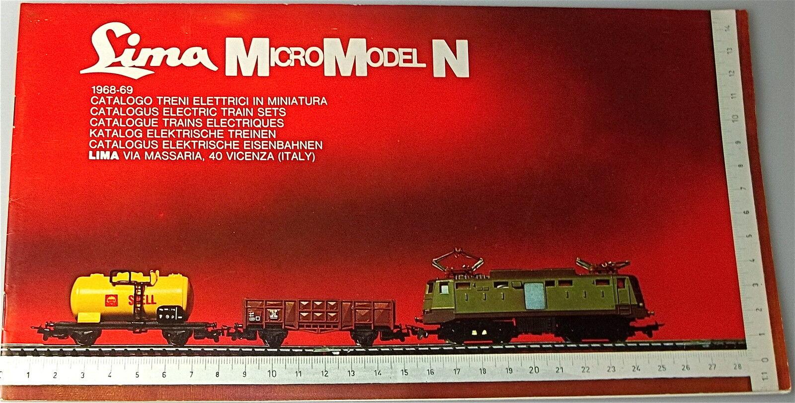 Lima Micromodel N Catalogue 1968 1969 Å