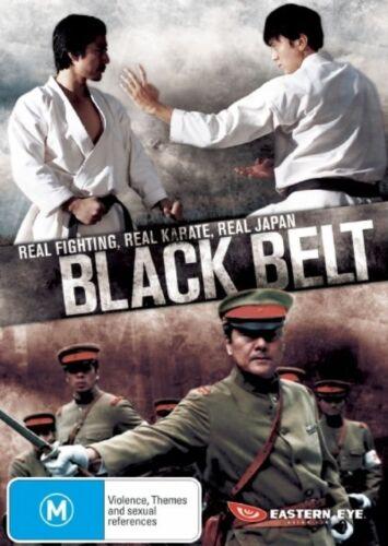 1 of 1 - Black Belt (DVD, 2008) Real Fighting Japan - New  Region 4