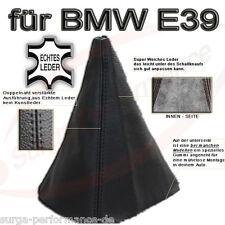 SCHALTMANSCHETTE SCHALTSACK BMW E39 Bj.1995-2003 ECHT LEDER Neu OVP