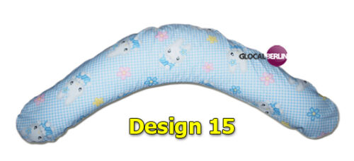 XXXL Stillkissen Baby Lagerungskissen Seitenschläferkissen inkl Bezug 190 CM NEU