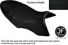 BLACK AUTOMOTIVE VINYL CUSTOM FITS BUELL XB 12 SS LIGHTNING LONG DUAL SEAT COVER