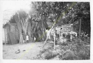 Original Photo MADAGASCAR 1948 village n58