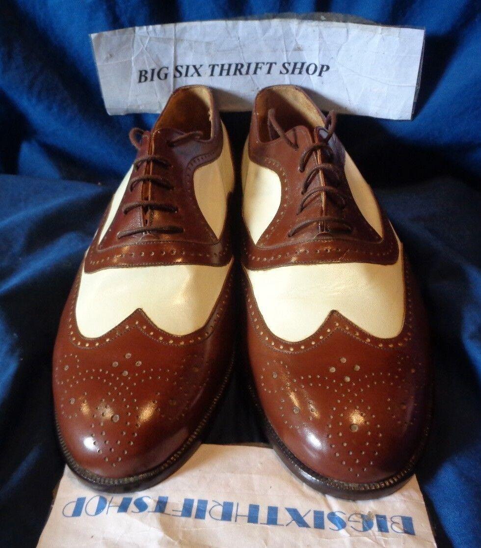 Mezlan Santiago Mens shoes Oxfords 8.5 M Leather Lace Wing Tip