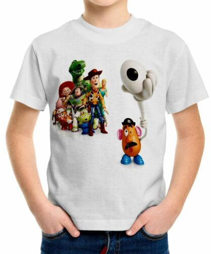 Toy Story Boys Kid Youth T-Shirt Tee Age 3-13 New