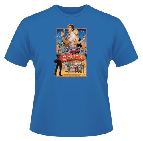 Chuck TV Poster Mens Funny T-Shirt Ideal Gift or Birthday Present.