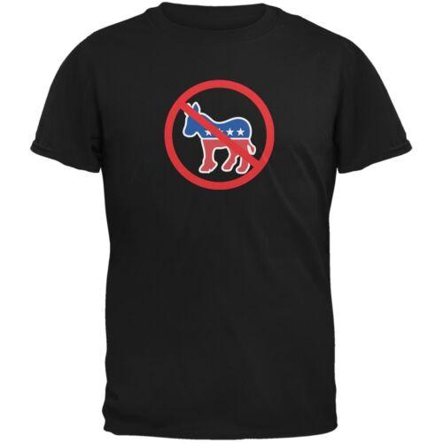 Republican Anti Democrat Black Adult T-Shirt