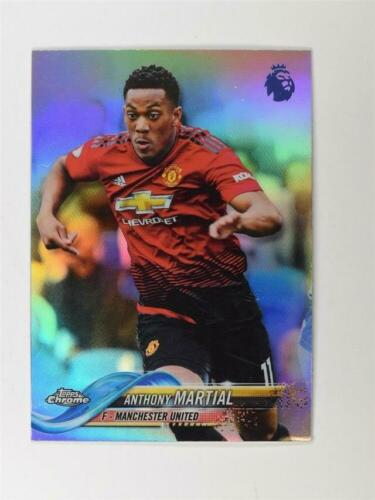 2018-19 Topps Chrome Premier League Refractor #96 Anthony Marcial
