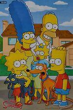 THE SIMPSONS - A3 Poster (42 x 28 cm) - Homer Simpson Clippings Fan Sammlung NEU