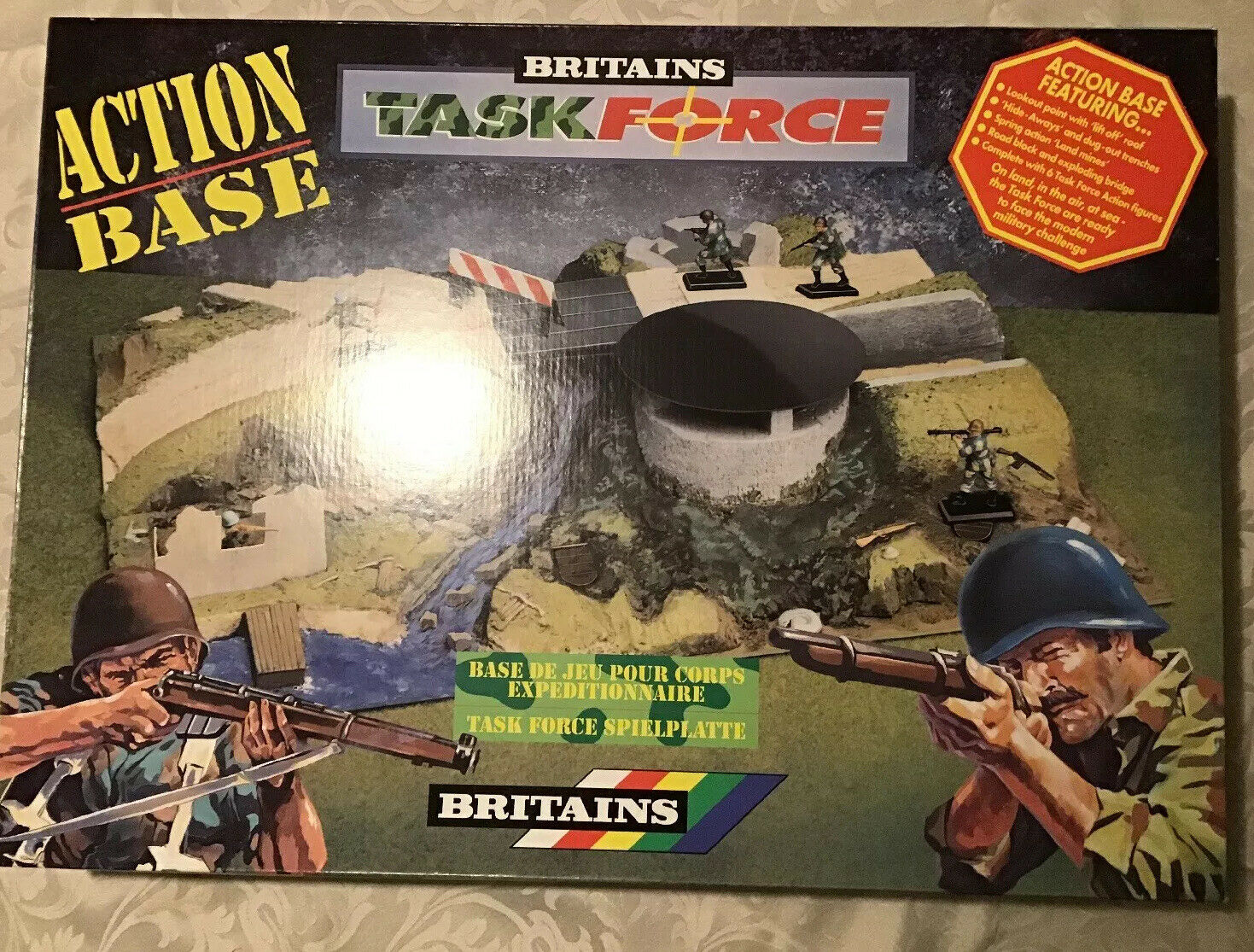 Britains Task Force Action Base Unopen Mint Hard to Find B769971