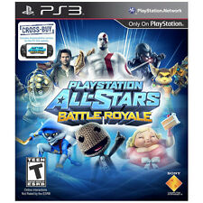 ALL-STARS BATTLE ROYALE (SONY PS3, 2012) FREE SHIPPING NEW SEALED