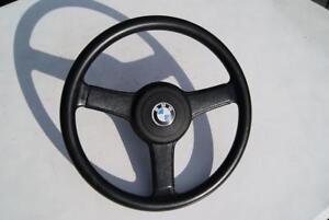 Original-BMW-E21-Sportlenkrad-Leder-36-039-32331120145-SPORT-STEERING-WHEEL-LEATHER