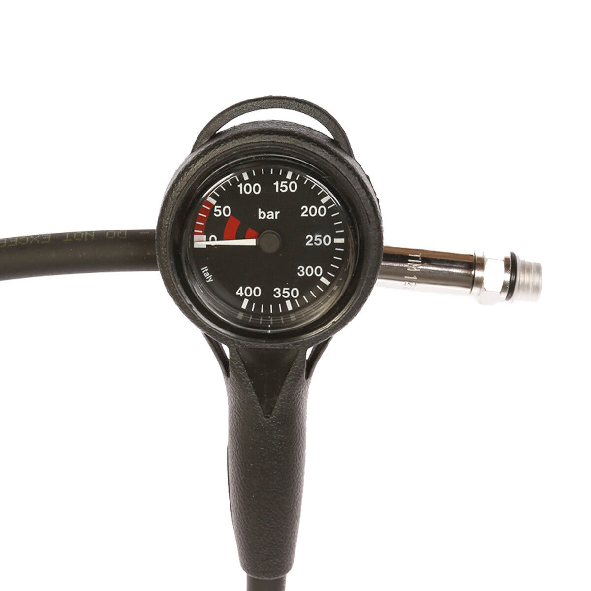 Slim Line Compact Manometer Manometer Manometer 400 Bar schwarz fd1798