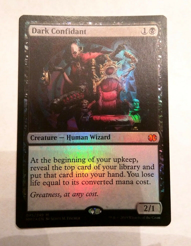 Dark Confidant Foil - MM2 - NM - MTG