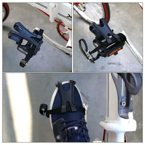 Rennrad Fahrrad Pedale mit Käfig und Schlaufen  Schlaufenpedal Pedalhaken Korb