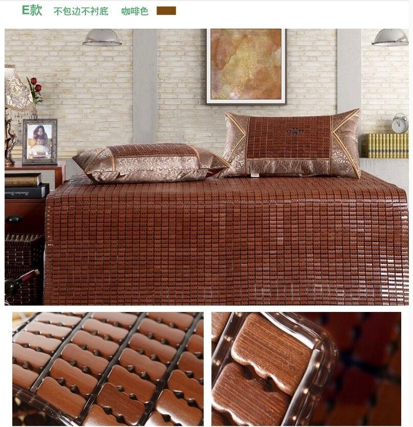 New Bamboo Mattress Mat Flexible Mahjong carbonized nature handmade mats