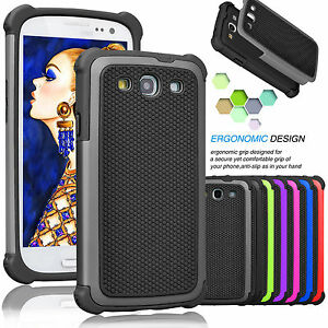For-Samsung-Galaxy-S3-III-Phone-Cover-Armor-Shockproof-Rugged-Rubber-Hard-Case