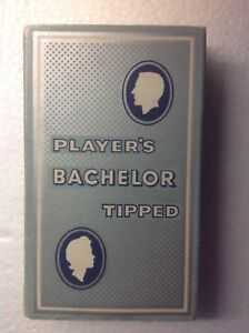 Rare-empty-cigarette-packet-PLAYER-039-S-BACHELOR-TIPPED-10-WITH-INSERT