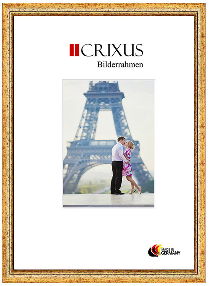 CRIXUS40 Vero Legno Cornici oro Antico Barocco Foto Foto Foto Poster Telaio B_32-453 e55a27