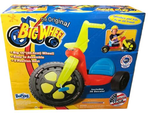 "The Original Big Wheel 16/"" Tricycle Classic version in Original Box"