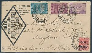 1931-034-DOX-034-First-Flight-Cover-L-039-Europe-au-Bresil-pour-USA-BS6768