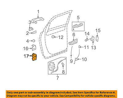 GM OEM-Door Hinge-Lower Left 23436137