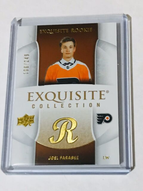 2019-20 UD EXQUISITE COLLECTION ROOKIE /249 JOEL FARABEE  05R-JF FLYERS