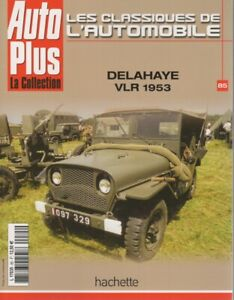 LES-CLASSIQUES-DE-L-039-AUTOMOBILE-85-JEEP-DELAHAYE-VLR-1953-JEEP-WILLYS