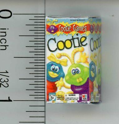 Dollhouse Miniature Children/'s Toy Building Set Box by Cindi/'s Mini/'s