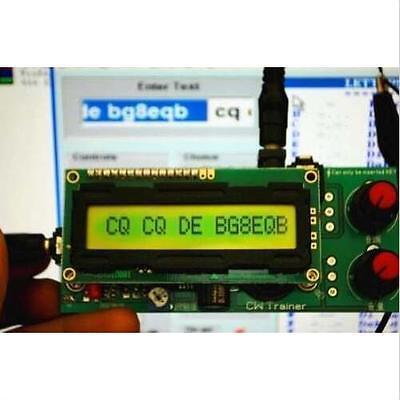 2in1: CW Trainer & Decoder * Morse Code Training Partner * Keyer Interpreter