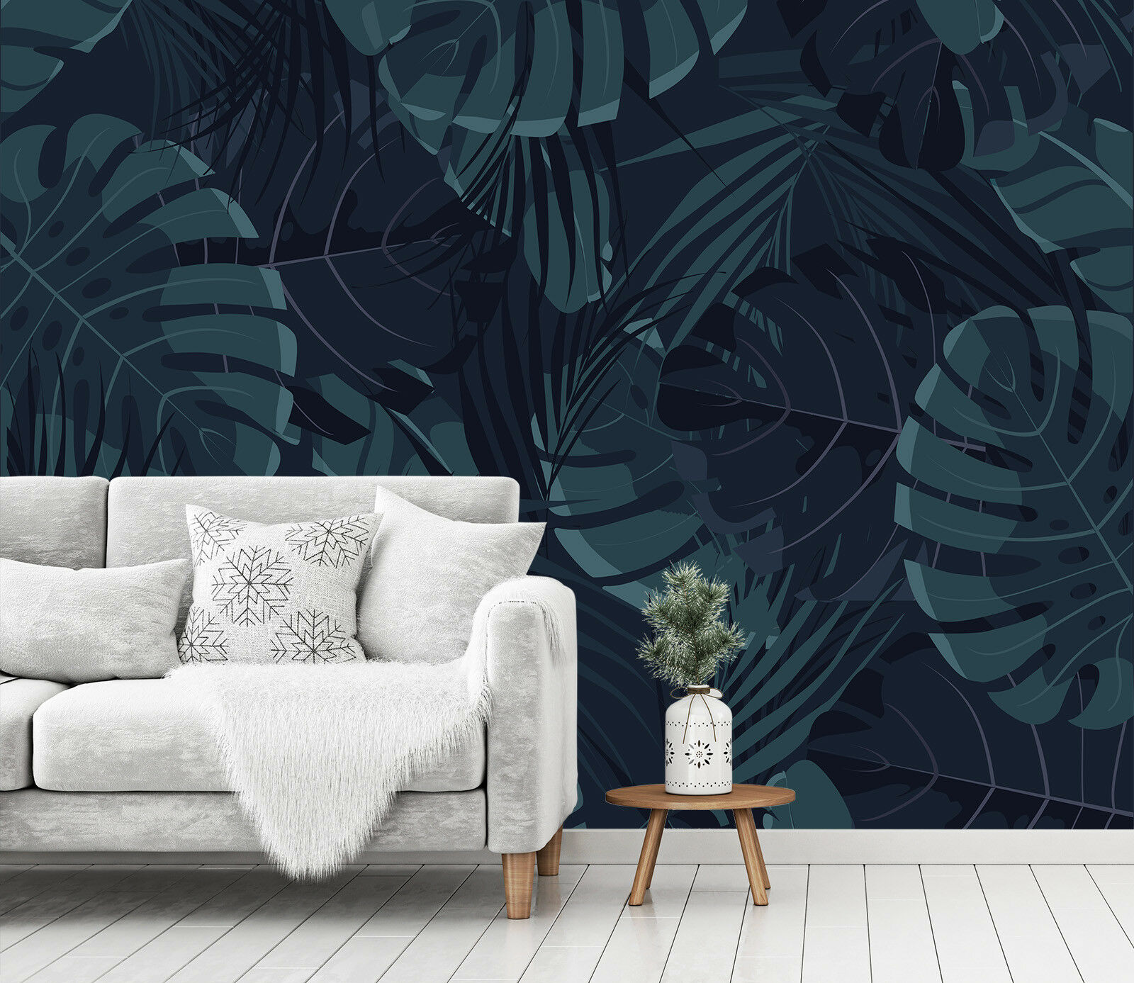 3D Grün Leaf Pattern 78 Wallpaper Mural Paper Wall Print Murals UK Jenny
