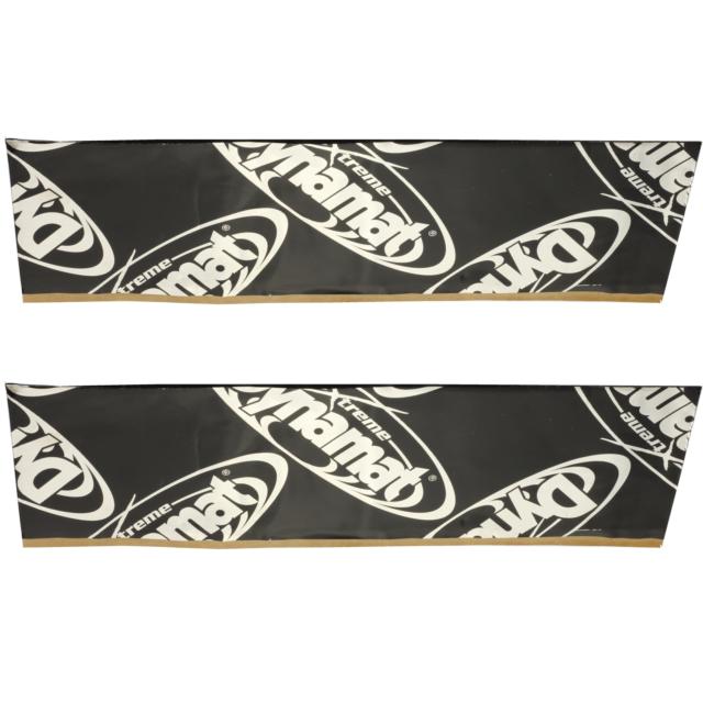 """DYNAMAT Xtreme Sound Dampening License Plate Kit Plain Pak 12/"""" X  4/"""" Qty 2 2"""