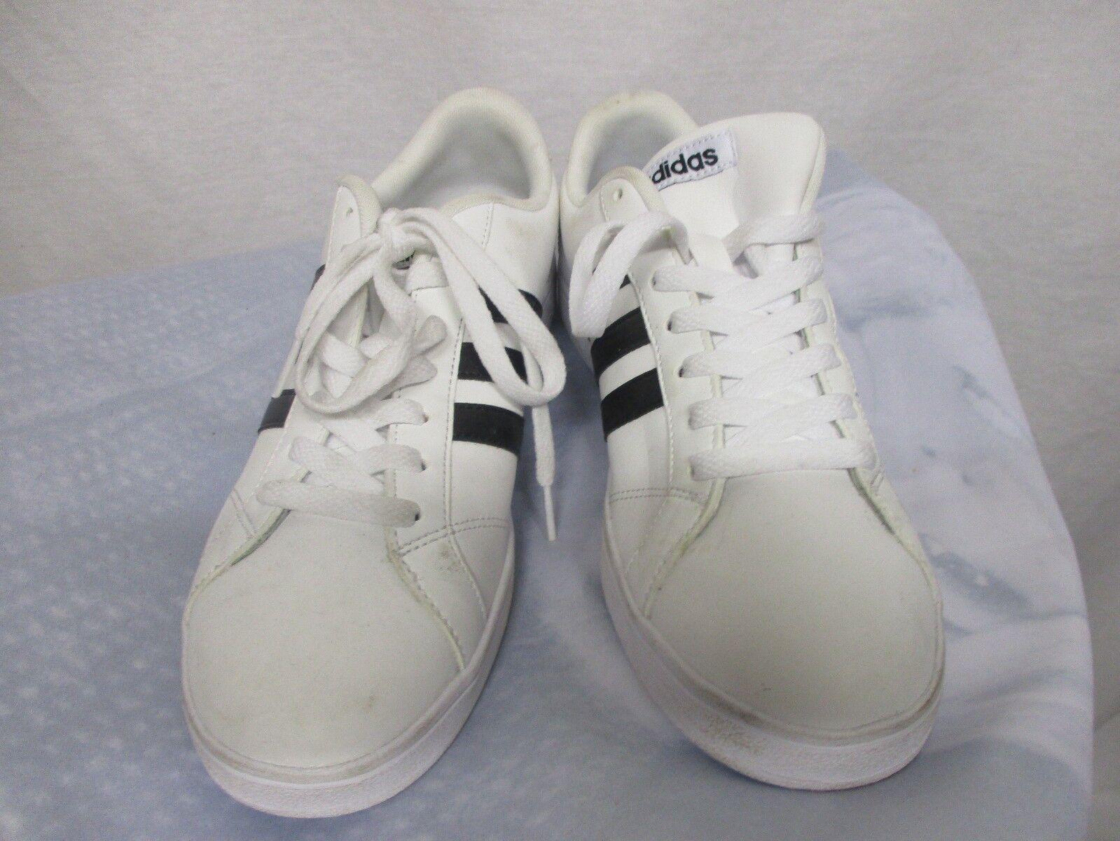 Adidas NEO Women's Baseline W Fashion Sneaker Comfort Footbed White/Black Sz 10