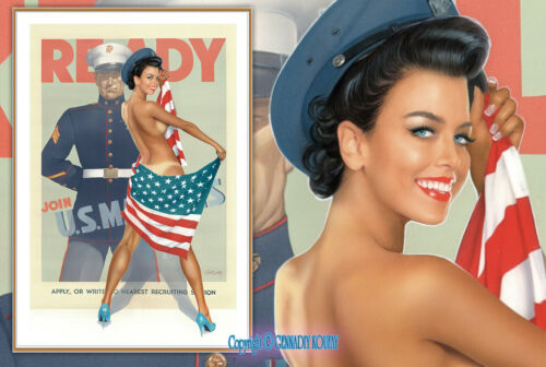 """COA included ✅ Koufay 1st.Limited Edition /""""PIN-UP No.86/"""" Hand Signed /& Numbered"""