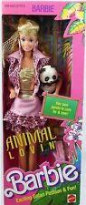 Animal Lovin Barbie with Panda Doll by Mattel NIB