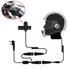 Motorcycle Helmet Headset Earpiece for Wouxun KG-UV8D KG-UV6D KG-UVD1P Radio
