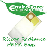 Riccar Vacuum Genuine HEPA Bags Type X Radiance 12 Pack Vacuum Cleaner Accessories