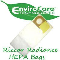 Riccar Vacuum Genuine HEPA Bags Type X Radiance 12 Pack Vacuum Cleaner Accessories