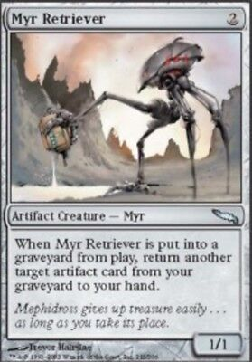 Myr Retriever Mirrodin Quase Perfeito Quase perfeito Mtg Magic The Gathering