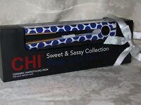 Chi Purple Polka Dots Ceramic Hairstyling/straightening Iron. New. Gf6861