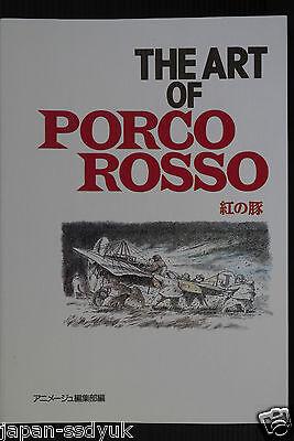 JAPAN NEW Studio Ghibli: The Art Of Porco Rosso